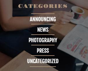 Categories widget