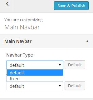 Main Navbar