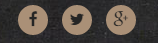 Rounded socials buttons