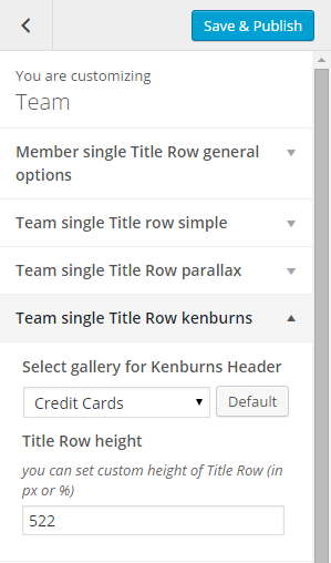 Team single title row kenburns
